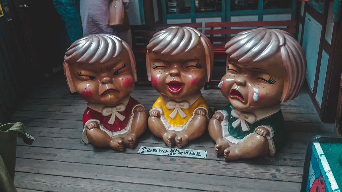 Heyri Art Village Statue de poupée