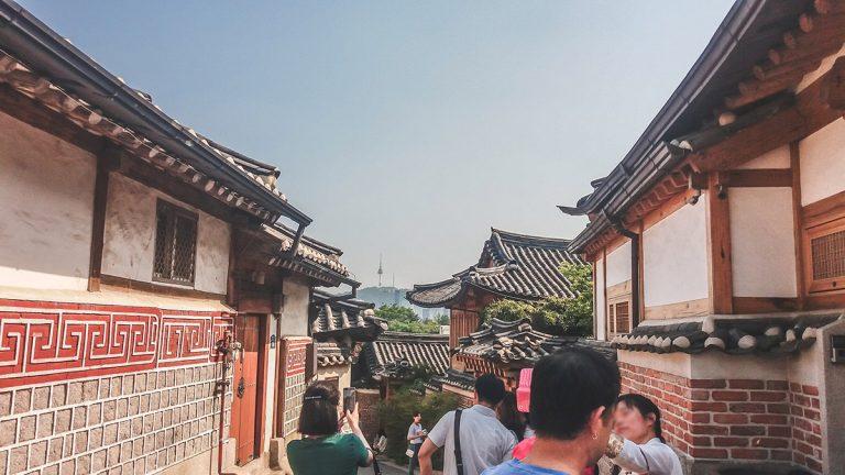 Promenade à Bukchon, Gamgodang-gil et ses environs