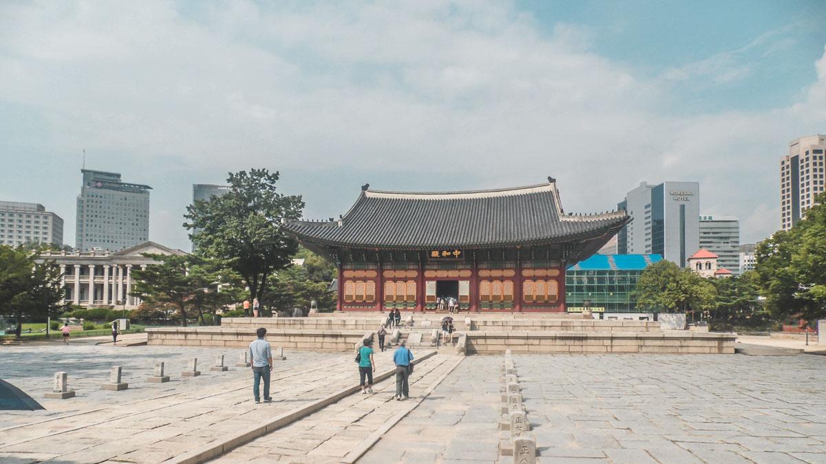 Deoksugung Junghwajeon