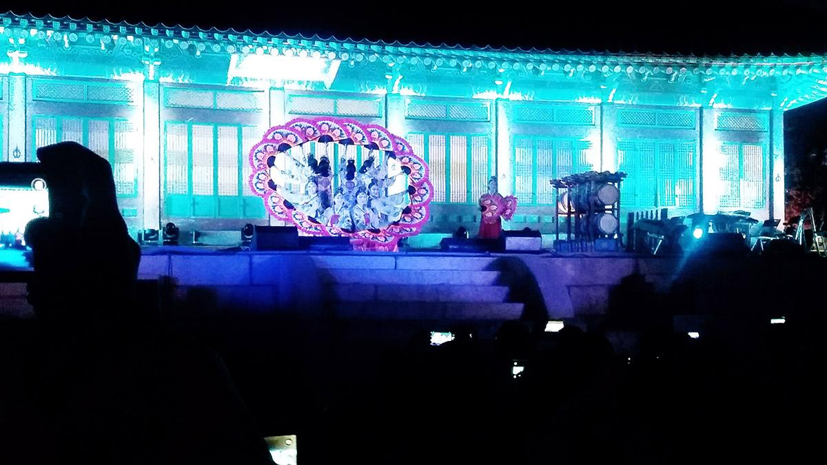 Gyeongbokgung de nuit Royal Culture Festival