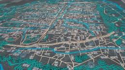 Musée d'histoire de Séoul ancienne carte