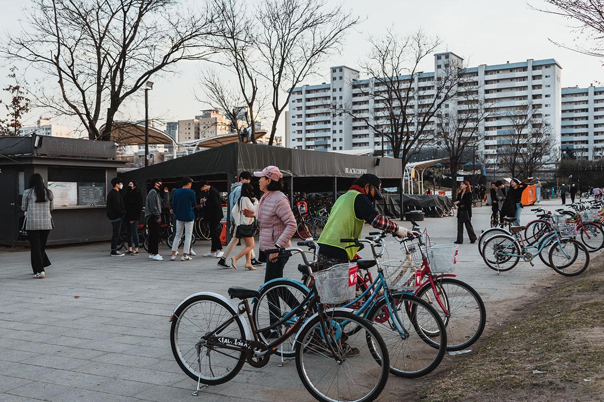 Location vélo Yeouido Hangang Park
