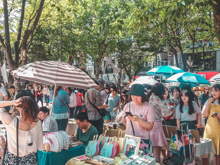 free market hongdae