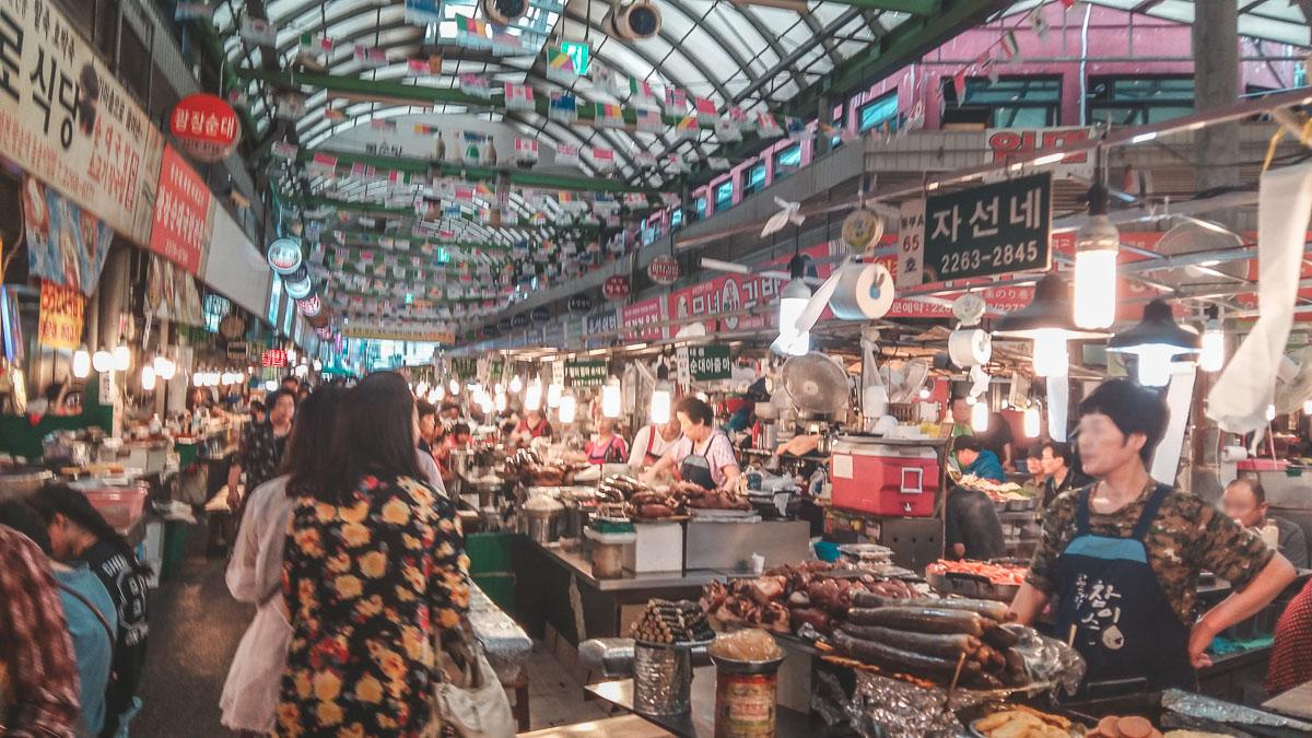 gwangjang market seoul