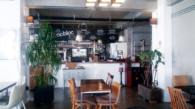 Café Monobloc à Hongdae