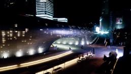 Dongdaemun Design Plaza nuit