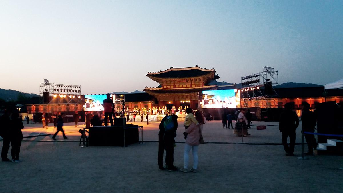 Ouverture spéciale de Gyeongbokgung la nuit