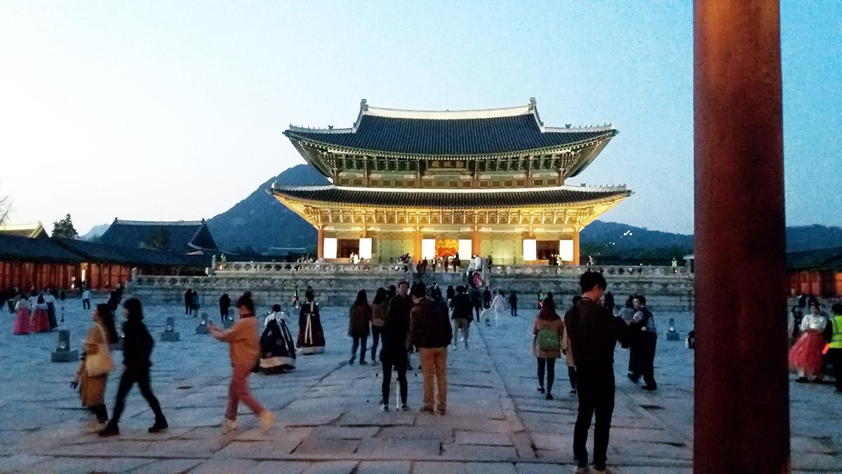Visite spéciale de nuit du palais Gyeongbokgung