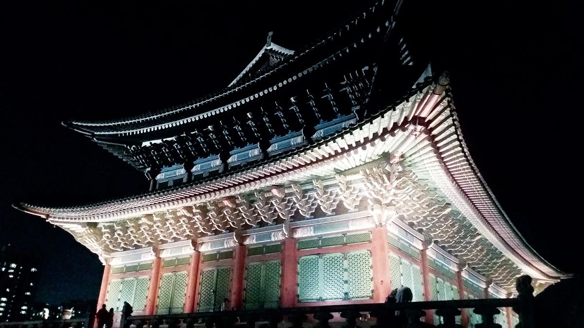 Gyeongbokgung nuit