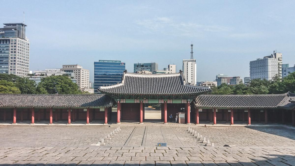 Gyeonghuigung Sungjeongmun