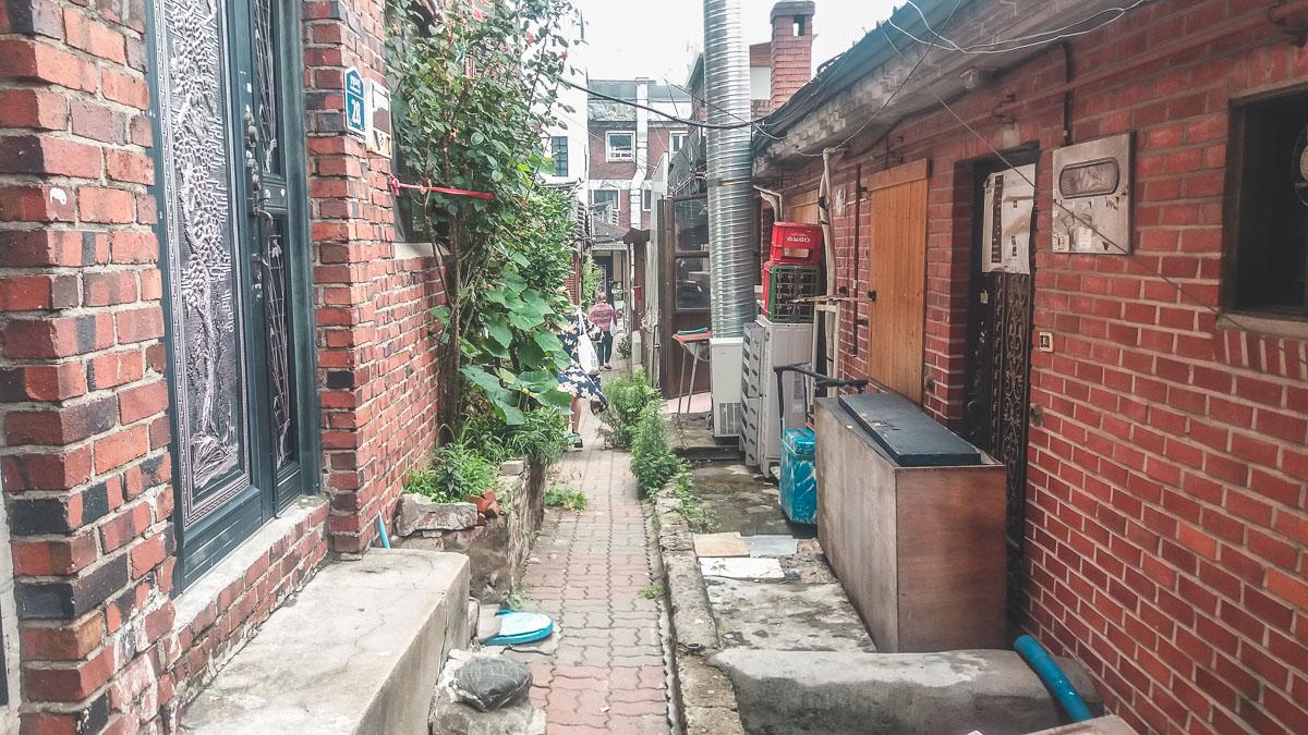 Samcheong-dong, ruelle