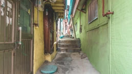 Une ruelle à Incheon