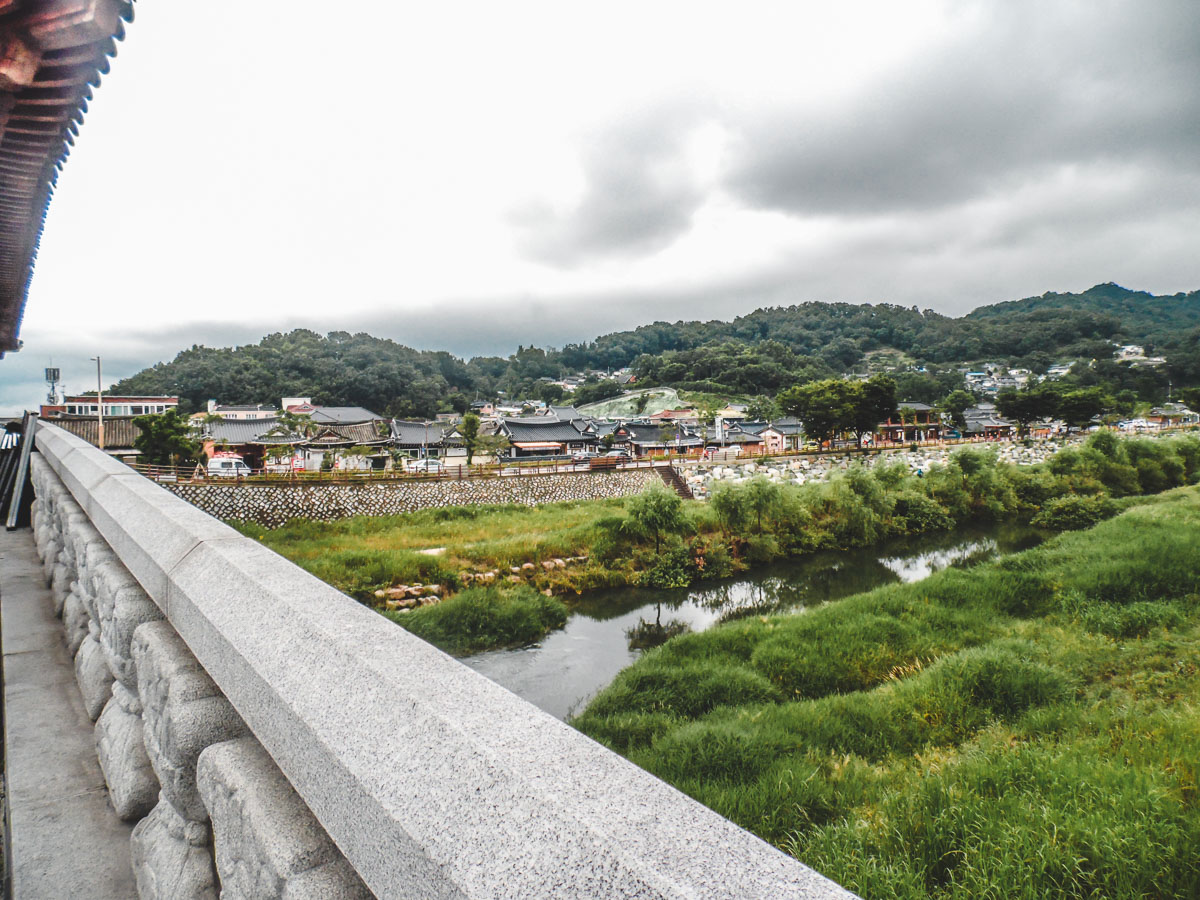 Entrée du Jeonju Hanok Village