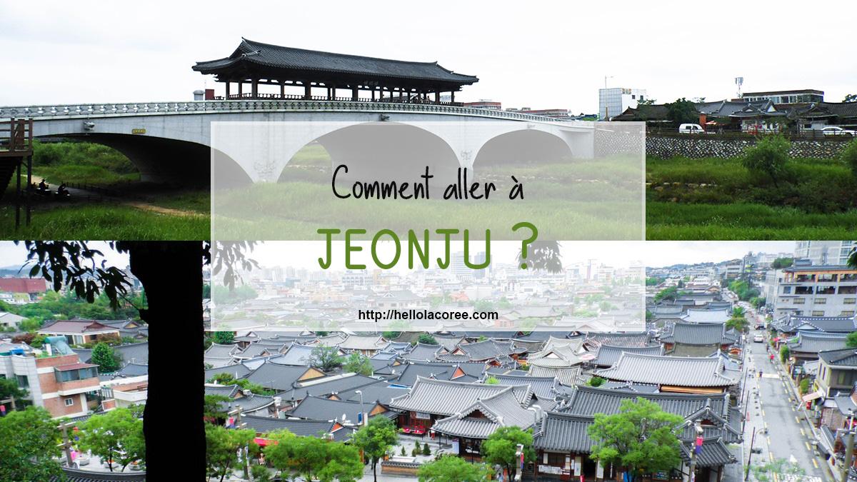 comment aller à Jeonju