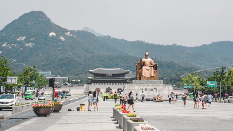 Gwanghwamun Square : le coeur de la ville de Séoul