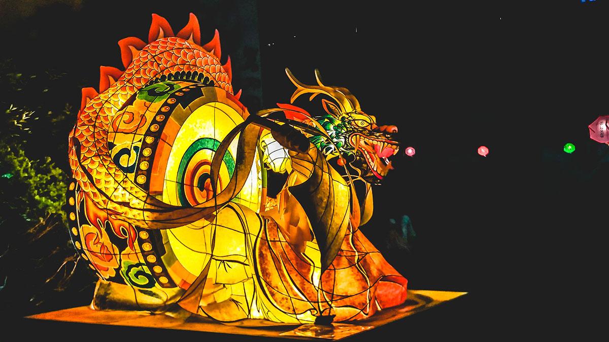 Lotus lantern festival exposition temple jogyesa