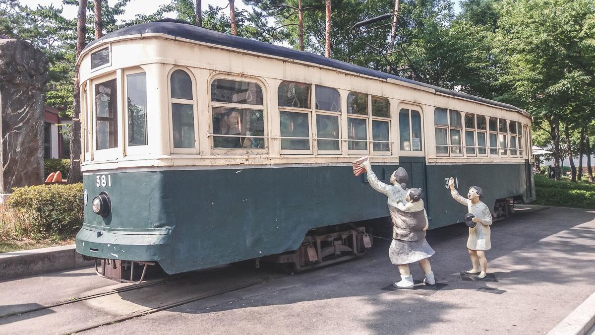 Musée d'histoire de Séoul tram 381