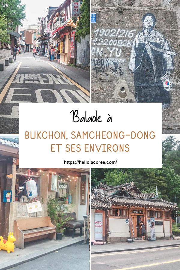 Bukchon, Samcheong-dong et ses environs