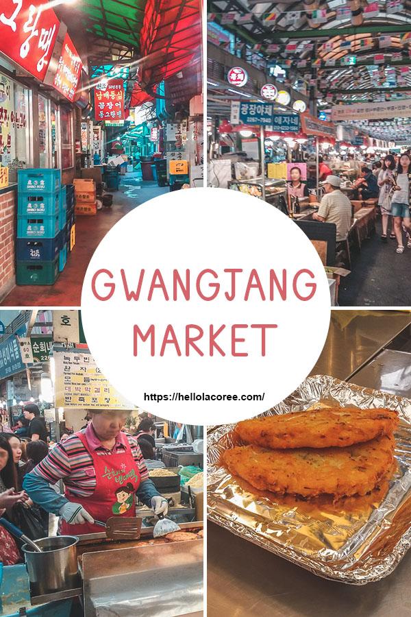 Gwangjang Market street food