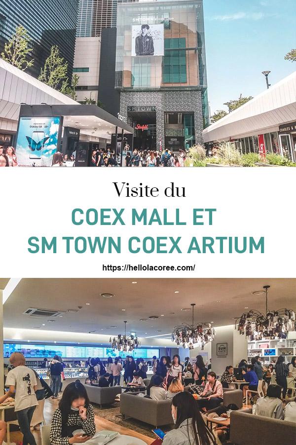 Visite du Coex Mall et du SM Town Coex Artium