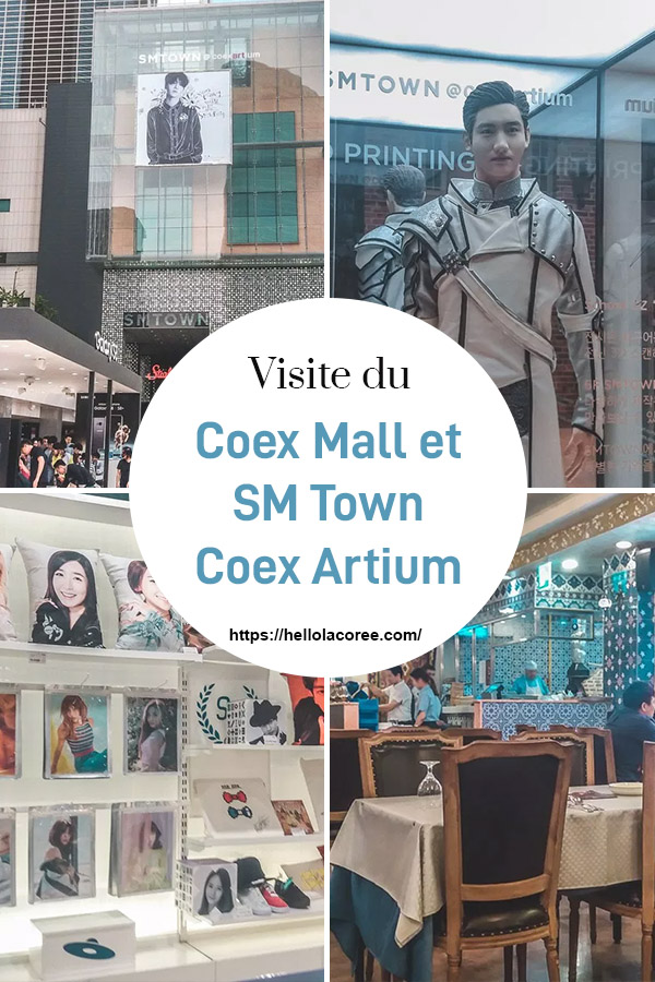 Découverte du Coex Mall et du SM Town Coex Artium