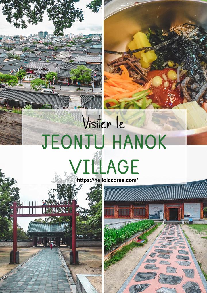 Voyager au Jeonju Hanok Village