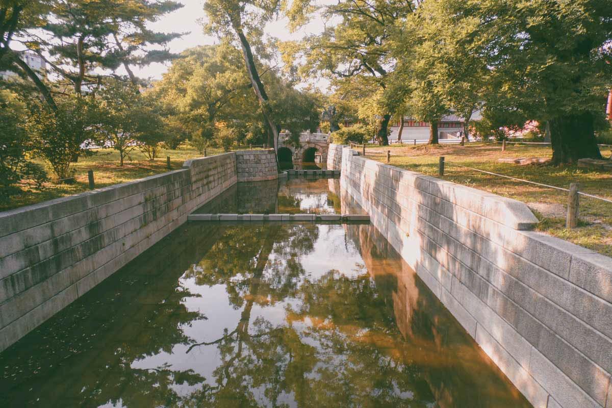 Geumcheongyo, un pont en pierre à Changdeokgung