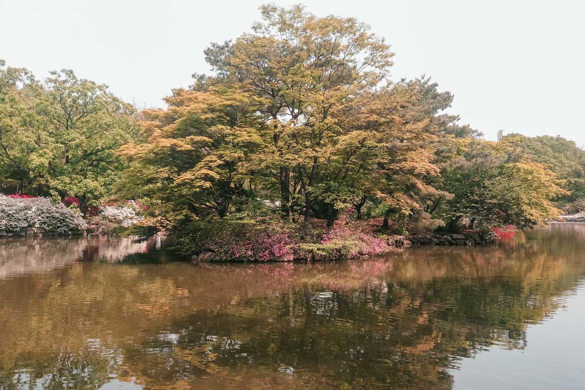 L'étang Chundangji à Changgyeonggung