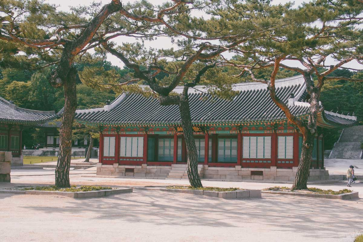 Changgyeonggung Séoul Corée du sud