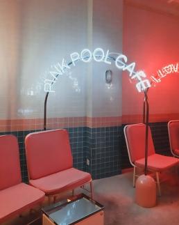 Hongdae Stylenanda Pink Pool Cafe