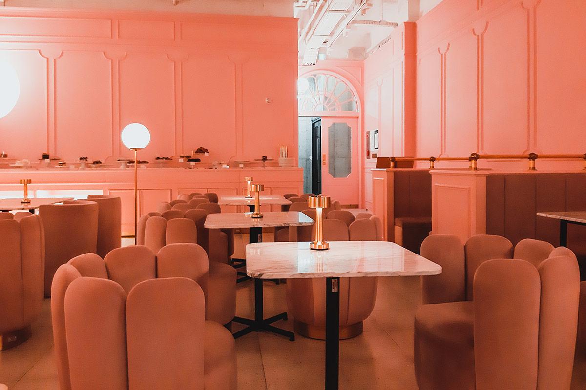 stylenanda pink pool cafe hongdae
