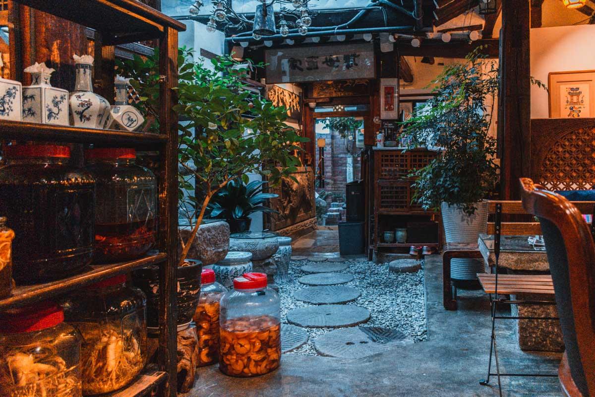Shin Old Tea House, maison de thé à Insadong