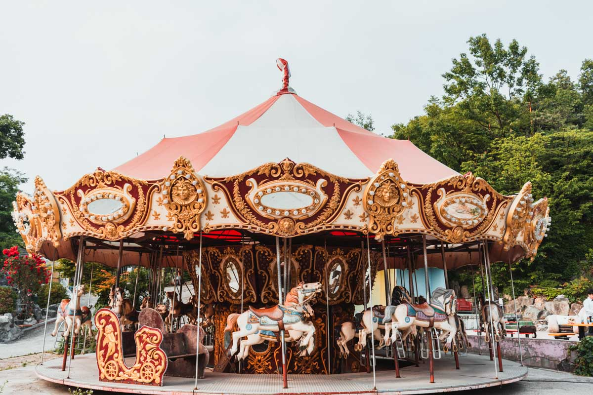 Carrousel à Yongma Land