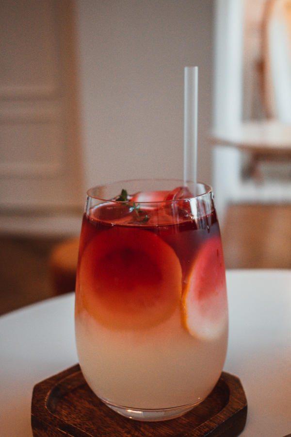 Hibiscus-Lemon Ade à We Plant We Coffee