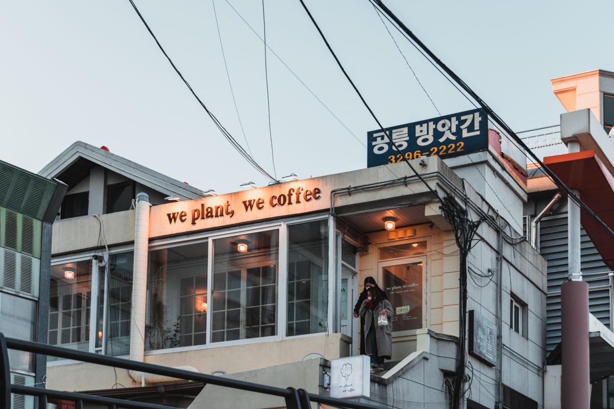 We plant we coffee nowon-gu