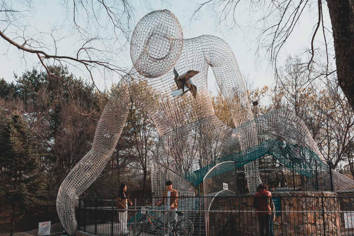 Seoul Forest statue géante