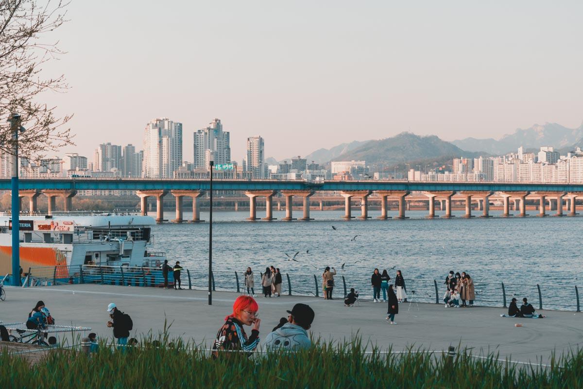 Yeouido Hangang Park Seoul