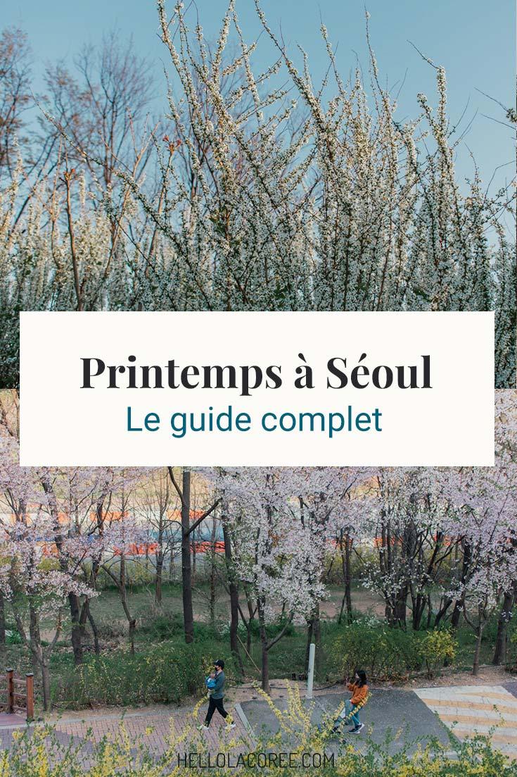 Seoul printemps